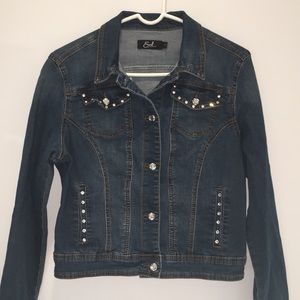 Super Sharp Denim Jacket by Earl Jean